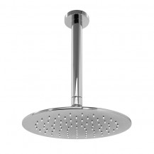 UltraThin Designer Round 200mm Shower Head & Ceiling Arm