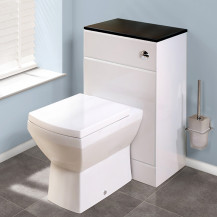 Tabor Back to Wall Toilet & Windsor Black Unit
