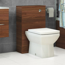 Aspen Walnut Back To Wall Unit & Tabor Toilet