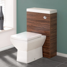 TD50 Walnut WC Unit with Tabor™ Pan