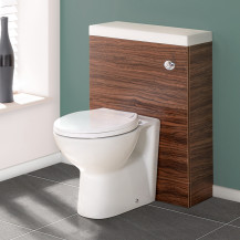 TD60 Walnut WC Unit with Tampa™ Pan