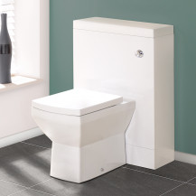 TD60 White WC Unit with Tabor™ Pan