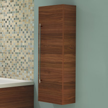 Delightful Aspen™ 120cm Walnut Wall Mounted Storage Unit