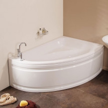 Vienna 1500 x 1050 Offset Right Hand Corner Bath