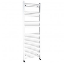 Beta Heat 1700 x 500mm Straight White Heated Towel Rail