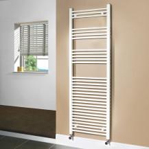 Beta Heat 1700 x 500mm Straight White Heated Towel Rail