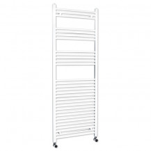 Beta Heat 1700 x 600mm Straight White Heated Towel Rail