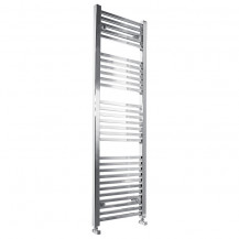 Beta Heat 1600 x 450mm Square Chrome Heated Towel Rail