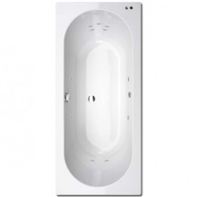 Duo 1600 x 700 11 Jet Whirlpool Bath