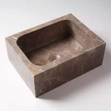 Fantastic Brown Rectangular Basin
