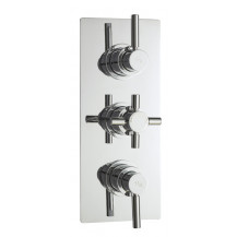 Hudson Reed Tec Pura Triple Thermostatic Shower Valve With Diverter