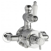 Premier Edwardian Twin Thermostatic Shower Valve