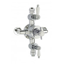 Premier Edwardian Triple Thermostatic Shower Valve