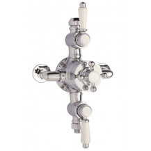 Premier Victorian Triple Thermostatic Exposed Shower Valve