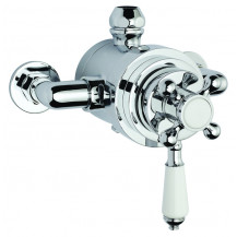 Premier Victorian Dual Thermostatic Exposed Shower Valve