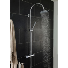 Hudson Reed Porto Thermostatic Bar Shower With Kit