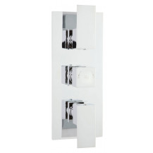 Hudson Reed Art Triple Thermostatic Shower Valve
