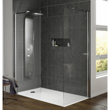 Hudson Reed Lava Thermostatic Shower Panel