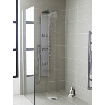 Hudson Reed Astral Thermostatic Shower Panel