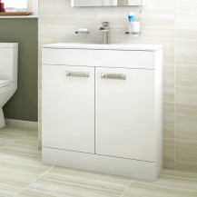 Aspen™ Compact 700 Floor Mounted 2 Door Vanity Unit