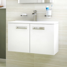 Aspen™ Compact 600 Wall Mounted 2 Door Vanity Unit