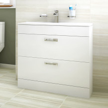 Aspen™ Compact 800 Floor Mounted 2 Drawer Vanity Unit