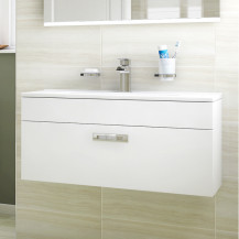 Aspen™ Compact 800 Wall Mounted 1 Drawer Vanity Unit