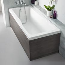 Austin 1700mm Grey Avola Front Bath Panel