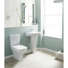Premier Ava Rimless Close Coupled Toilet & Seat