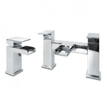 Quadra™ Waterfall Basin Mixer and Bath Filler Tap Pack
