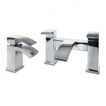Delph Basin Mixer and Bath Filler Tap Pack