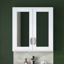 Nottingham White Mirrored Cabinet