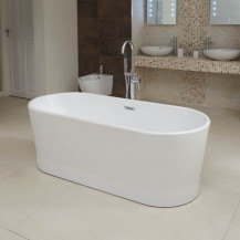 Bolerro 1700 x 750mm Freestanding Bath Tub