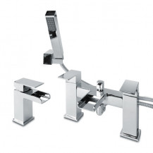 Quadra™ Waterfall Basin Mixer and Bath Shower Mixer Tap Pack