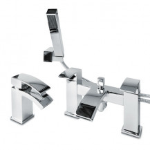 Delph Basin Mixer and Bath Shower Mixer Tap Pack