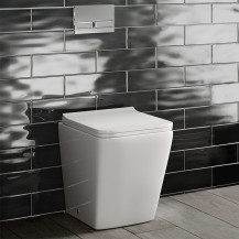 Voss Back to Wall Toilet with Soft Close Toilet Seat