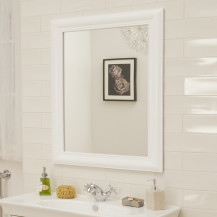 Valencia White Mirror 900(H) 700(W)