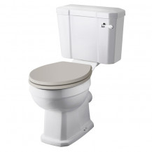 Hudson Reed Richmond Comfort Close Coupled Toilet without Seat