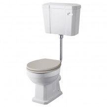 Hudson Reed Richmond Comfort Low Level Toilet without Seat
