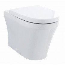 Hudson Reed Luna Back to Wall Toilet and Seat