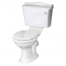 Hudson Reed Chancery Close Coupled Toilet without Seat