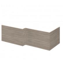 Premier Athena Driftwood 1700mm Square Shower Bath Front Panel