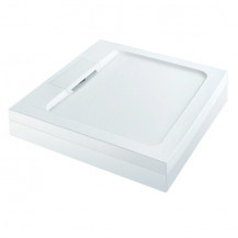 Elusive Easiplumb 760 x 760 Square Shower Tray with Waste