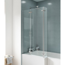 Premier Ella Hinged 5mm Bath Screen