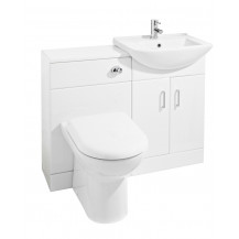 Premier Cloakroom Packs Saturn Furniture Pack with Square Basin