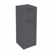 Nottingham Grey Single Door & Drawer Storage Unit