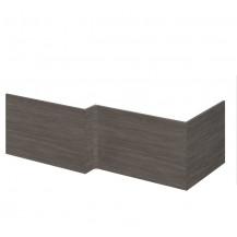 Premier Athena Grey Avola 1700mm Square Shower Bath Front Panel