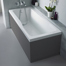 Austin 1700mm Grey Gloss Front Bath Panel