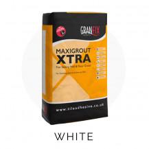 Granfix Maxigrout Xtra White 3kg Grout Bag