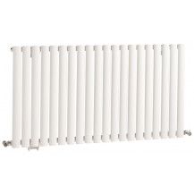 Hudson Reed Revive Single Panel Designer Radiator High Gloss White 635x1180